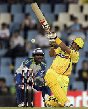 Raina managed a thunder against Wayamba in the CLT20