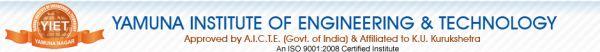 Yamuna Institute of Engineering & Technology