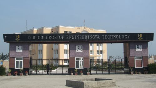 DR College of Engineering And Technology