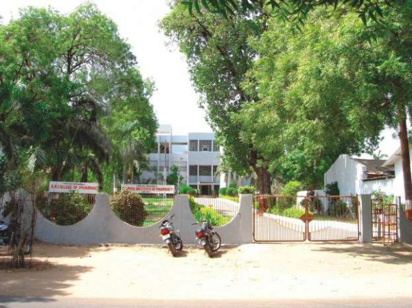 A. R. College OF Pharmacy & G.h.p. Institute OF Pharmacy