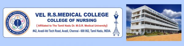 Vel R.S Medical College – College of Nursing