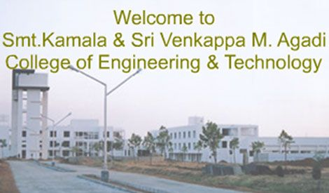 Smt. Kamala & Sri. Venkappa M. Agadi College of Engineering and Technology