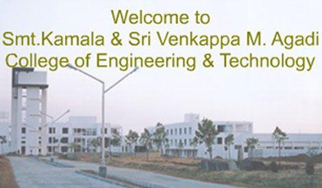 Smt. Kamala & Sri. Venkappa M. Agadi College of Engineering and Technology