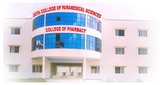 Jaya College of Paramedical Sciences, College Of Pharmacy