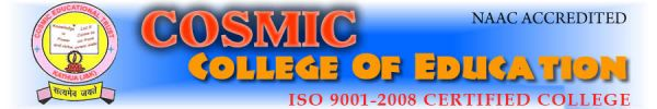 Cosmic College of Education