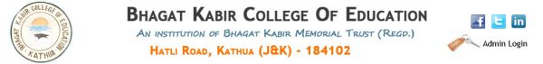 Bhagat Kabir College of Education
