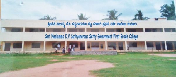 Neelamma Kudur K A Sathyanarayana Setty Government First Grade College Kudur