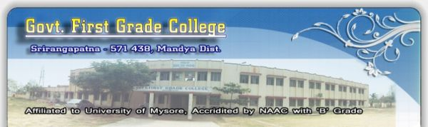 Government First Grade College Srirangapatna