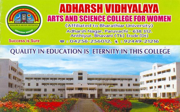 Adharsh Vidyalaya College of Arts and Science for Women