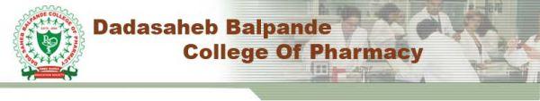 Dadasaheb Balpande College of Pharmacy