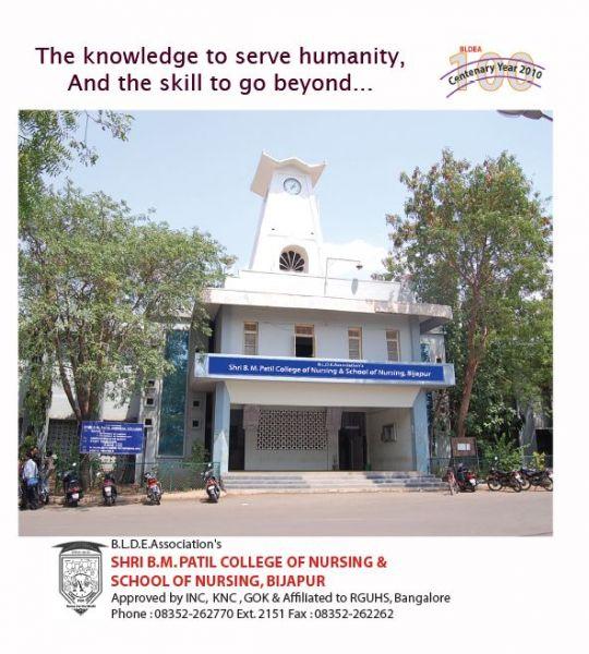 BLDEA's Shri B.M.Patil College of Nursing & School of Nursing